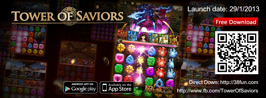 Tower of Saviors is released